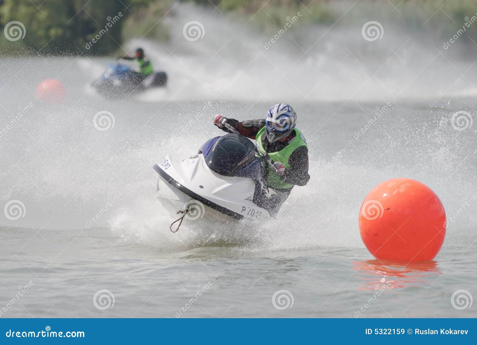 Download Campionato di Aquabike. immagine stock editoriale. Immagine di campionato - 5322159