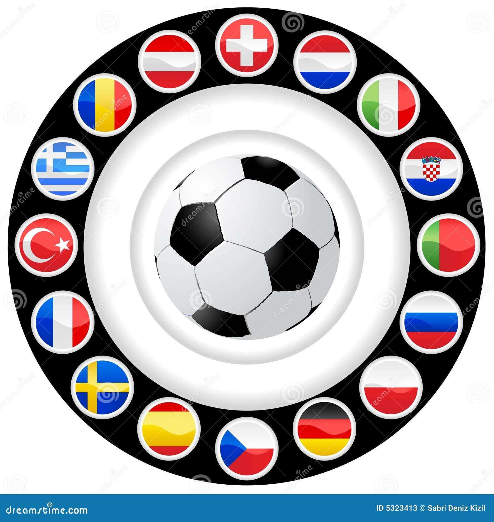 Download Campionato europeo 2008 illustrazione vettoriale. Illustrazione di campionato - 5323413