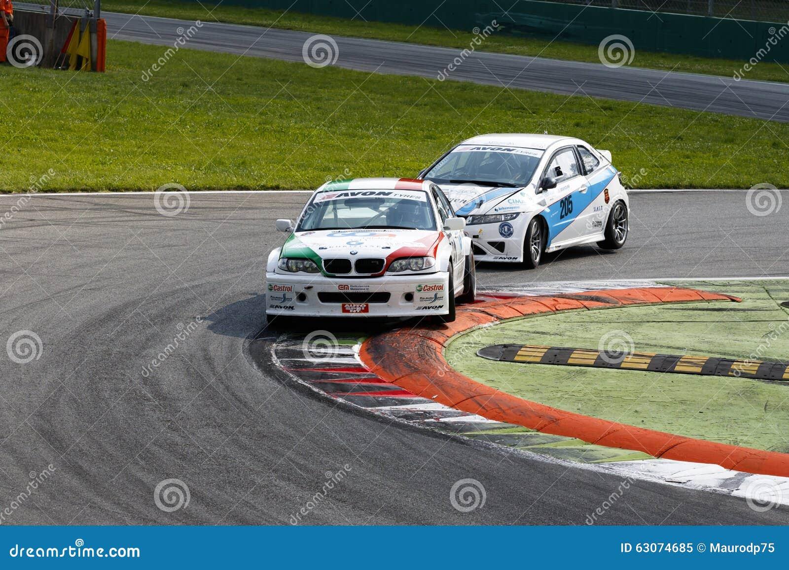 Circuit Monza Italia : Campionato italiano gran turismo editorial image image of