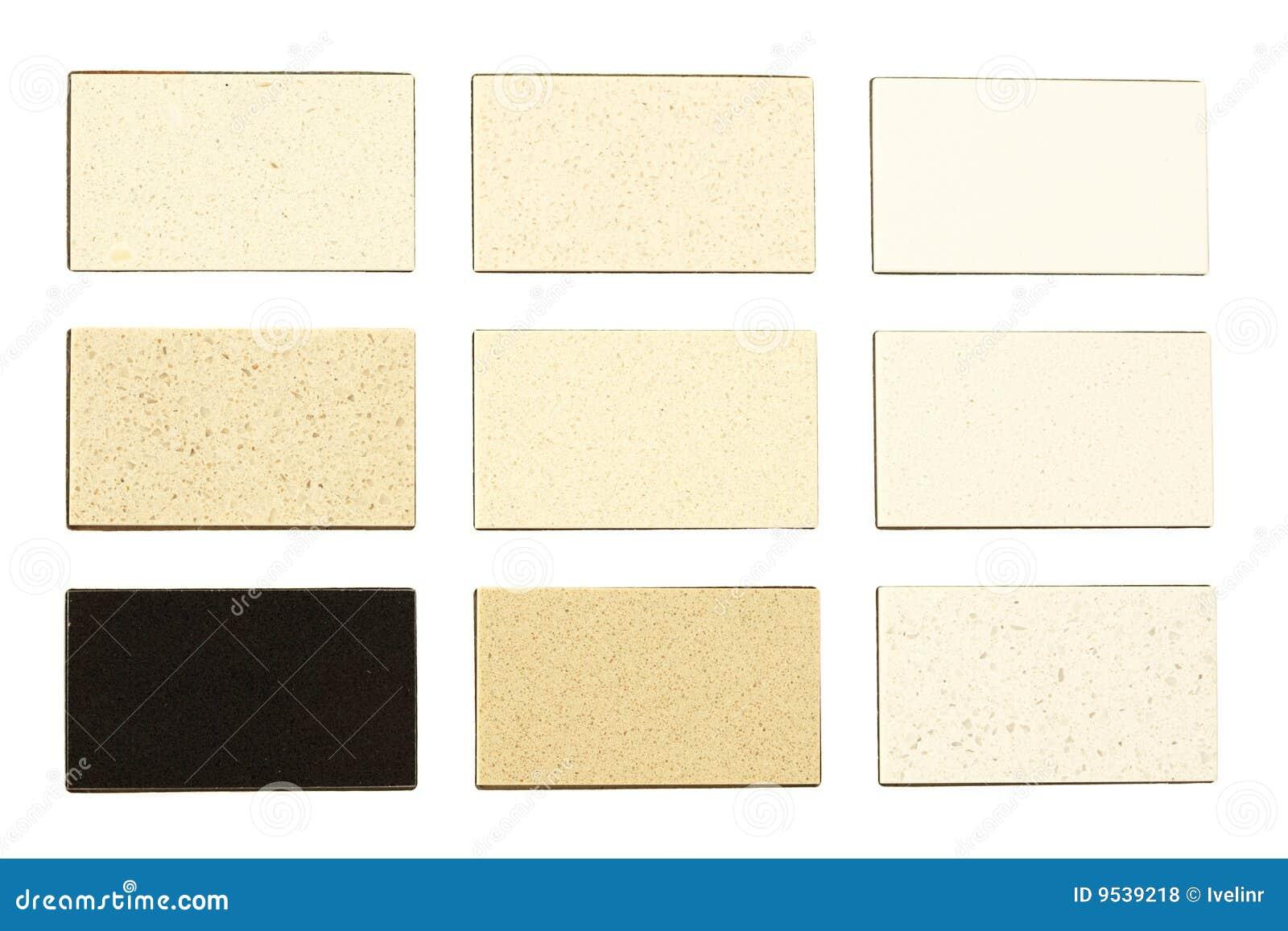 Campioni del granito per i controsoffitti della cucina for Granitos colores claros