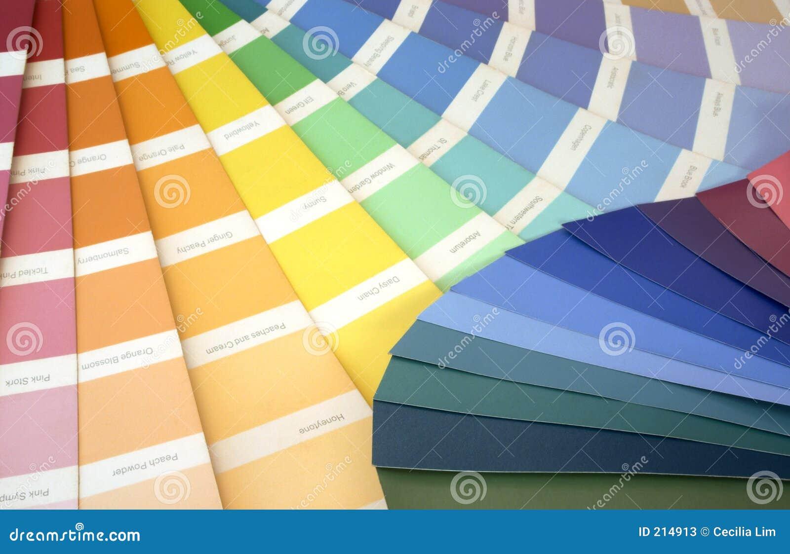 Campioni di colore