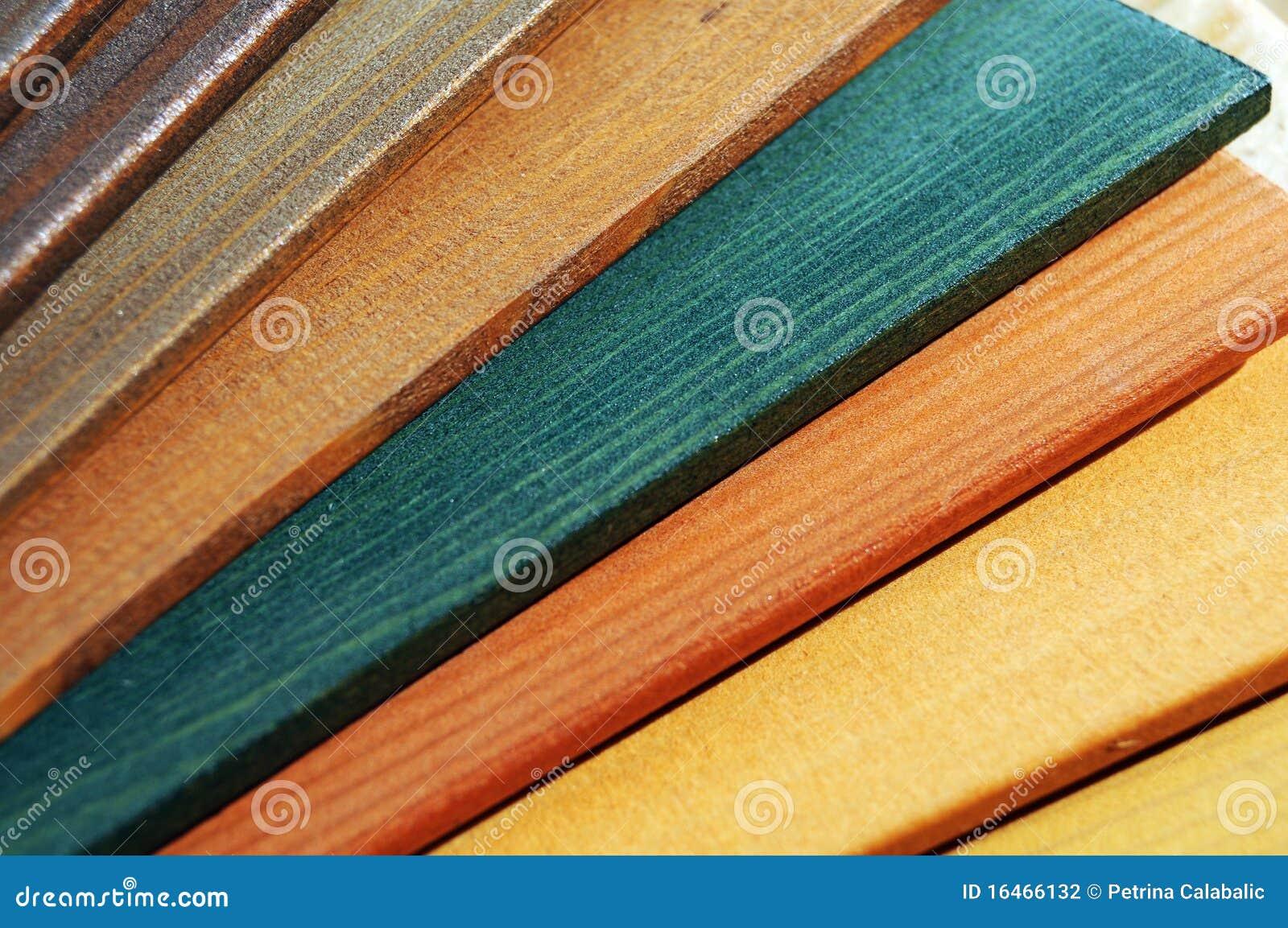 Colori Vernici Legno : Campioni di legno della vernice fotografia stock immagine di
