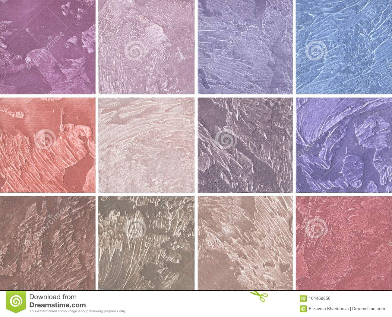 Campioni di rivestimento decorativo per le pareti nel rosa - Rivestimento decorativo pareti ...