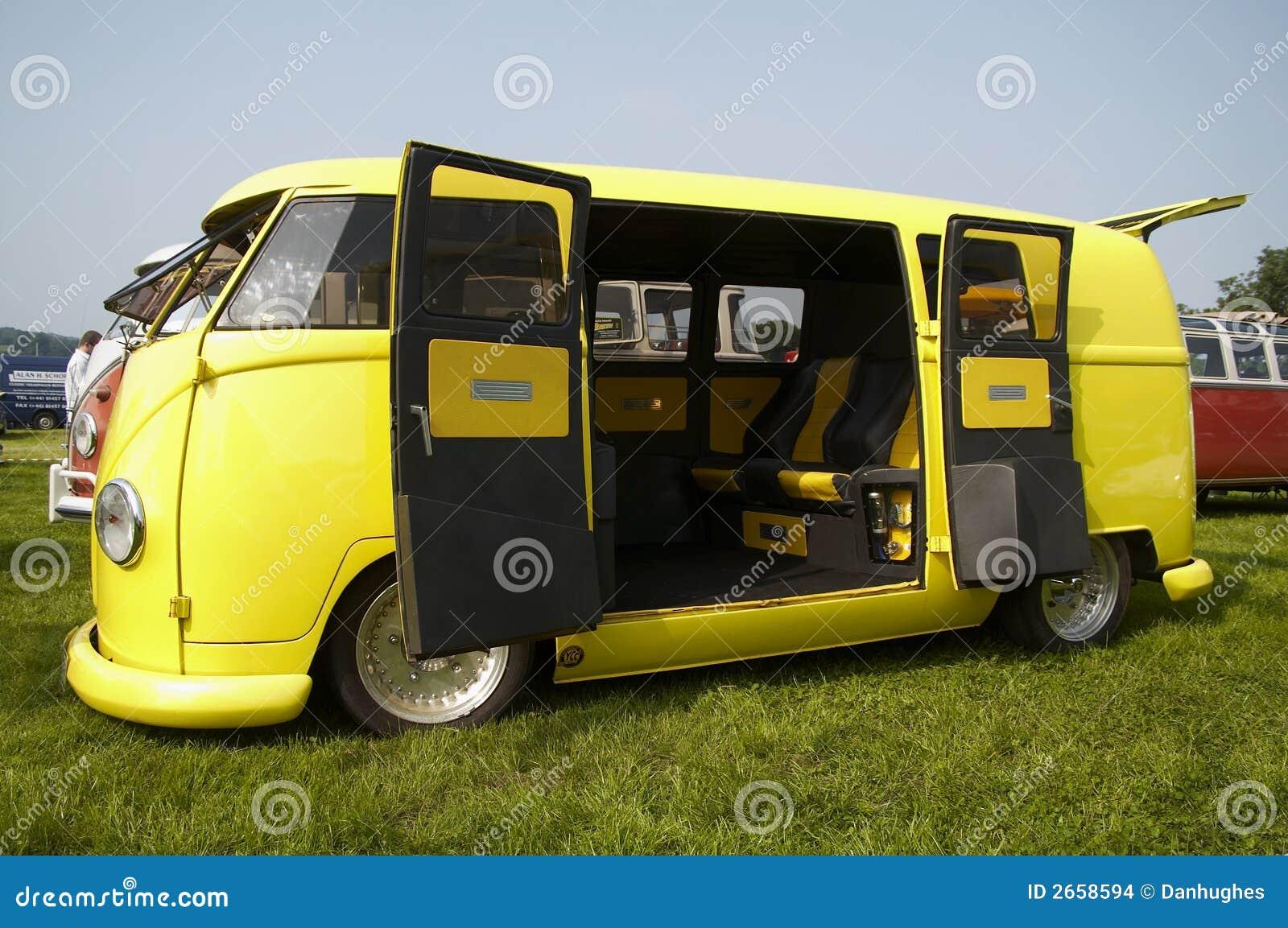 Campista amarelo da VW