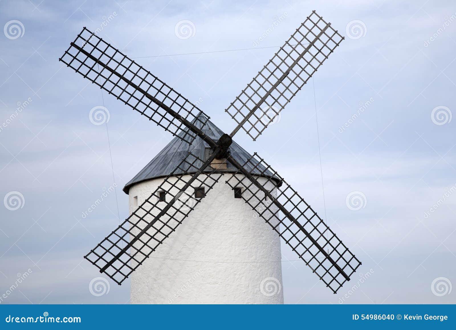 Campo criptana de windmill