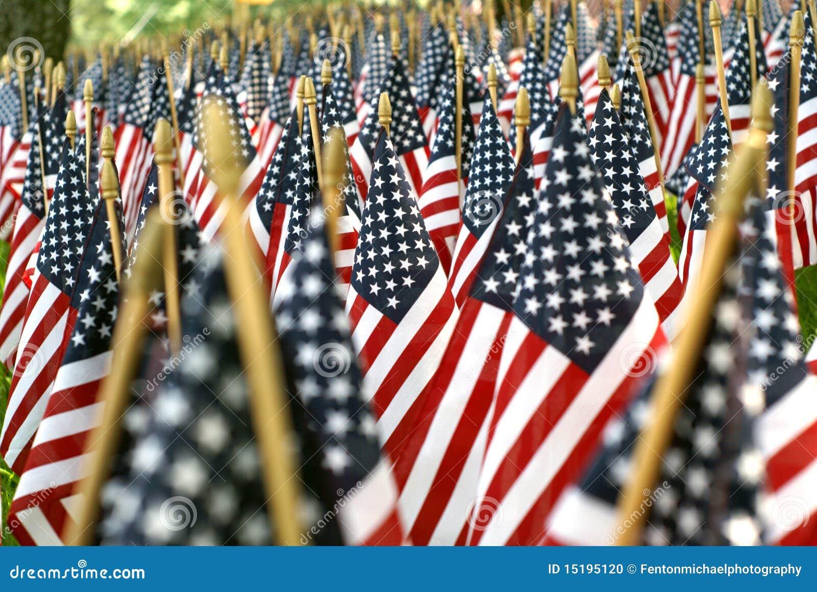Campo das bandeiras americanas 02608