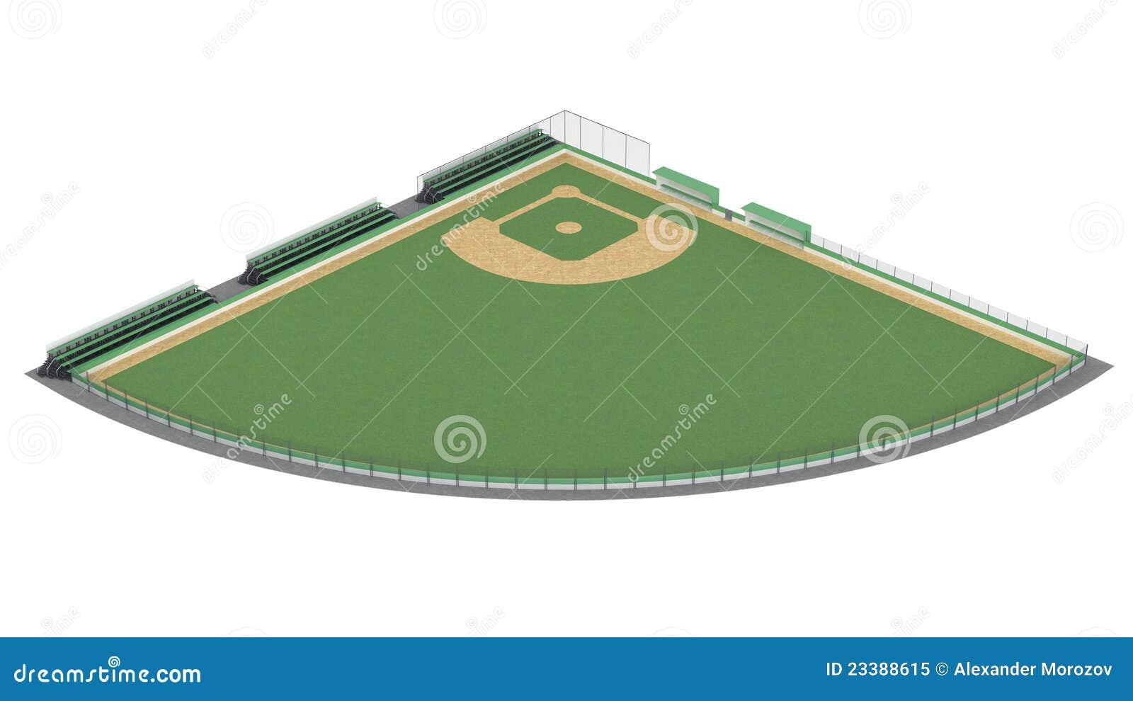 foto campo beisbol: