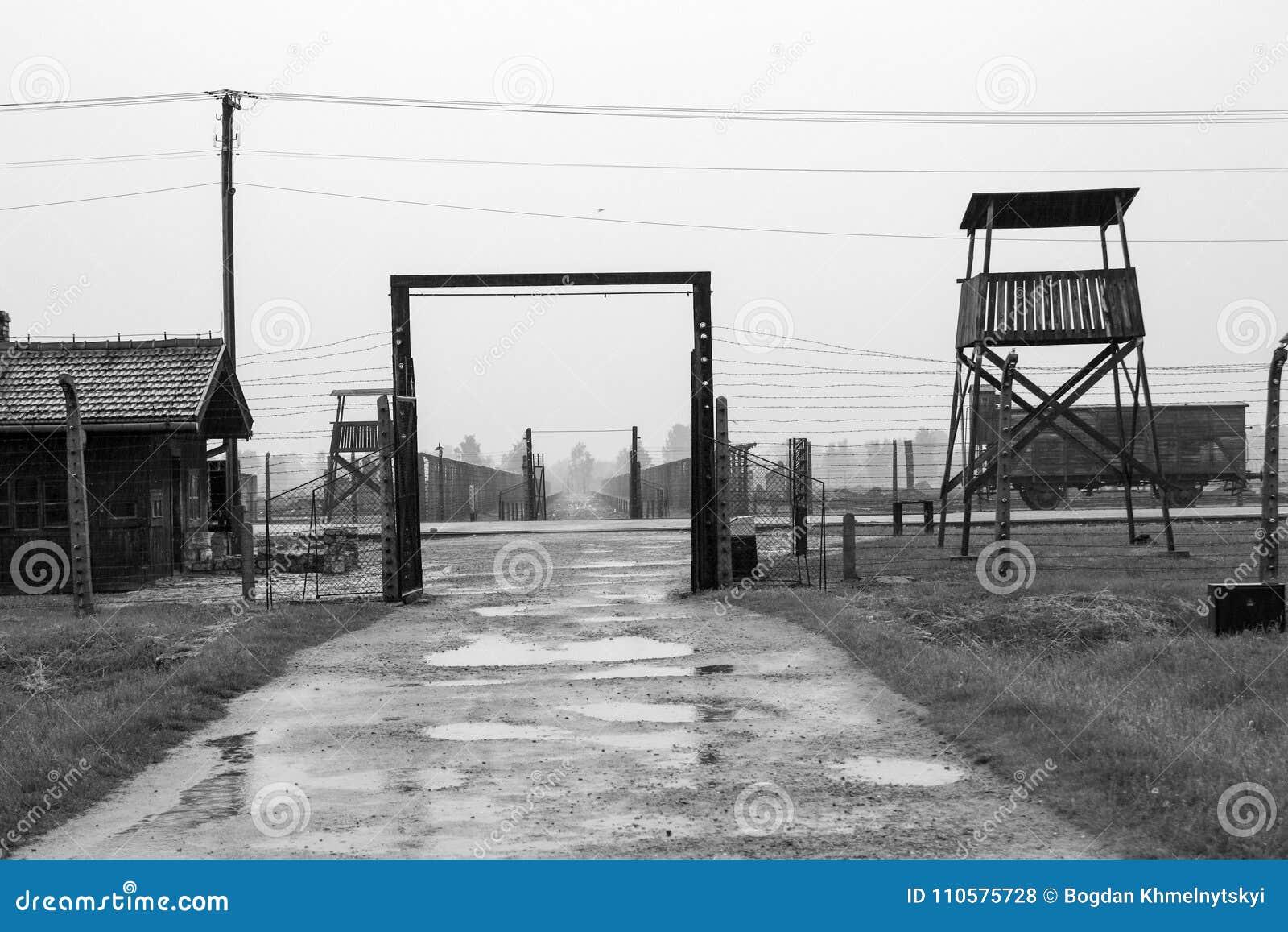 Campo de concentración Birkenau Oswiecim, Polonia 2016