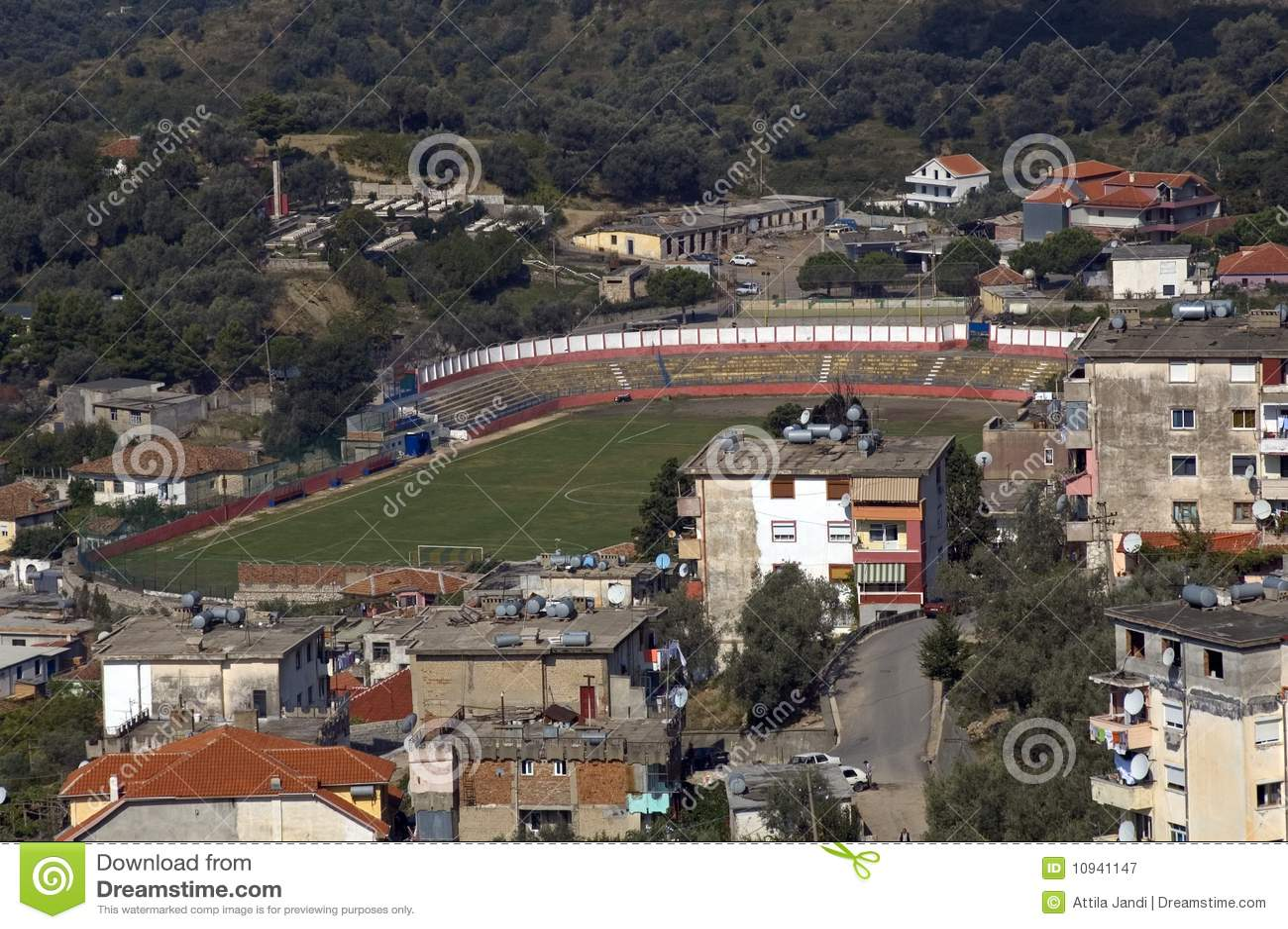 Campo de fútbol, Kruja, Albania