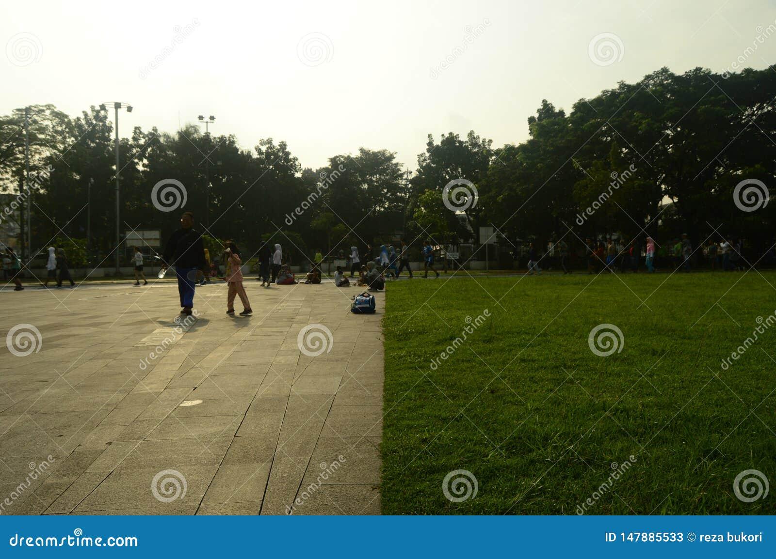 Campo de Gasibu em bandung