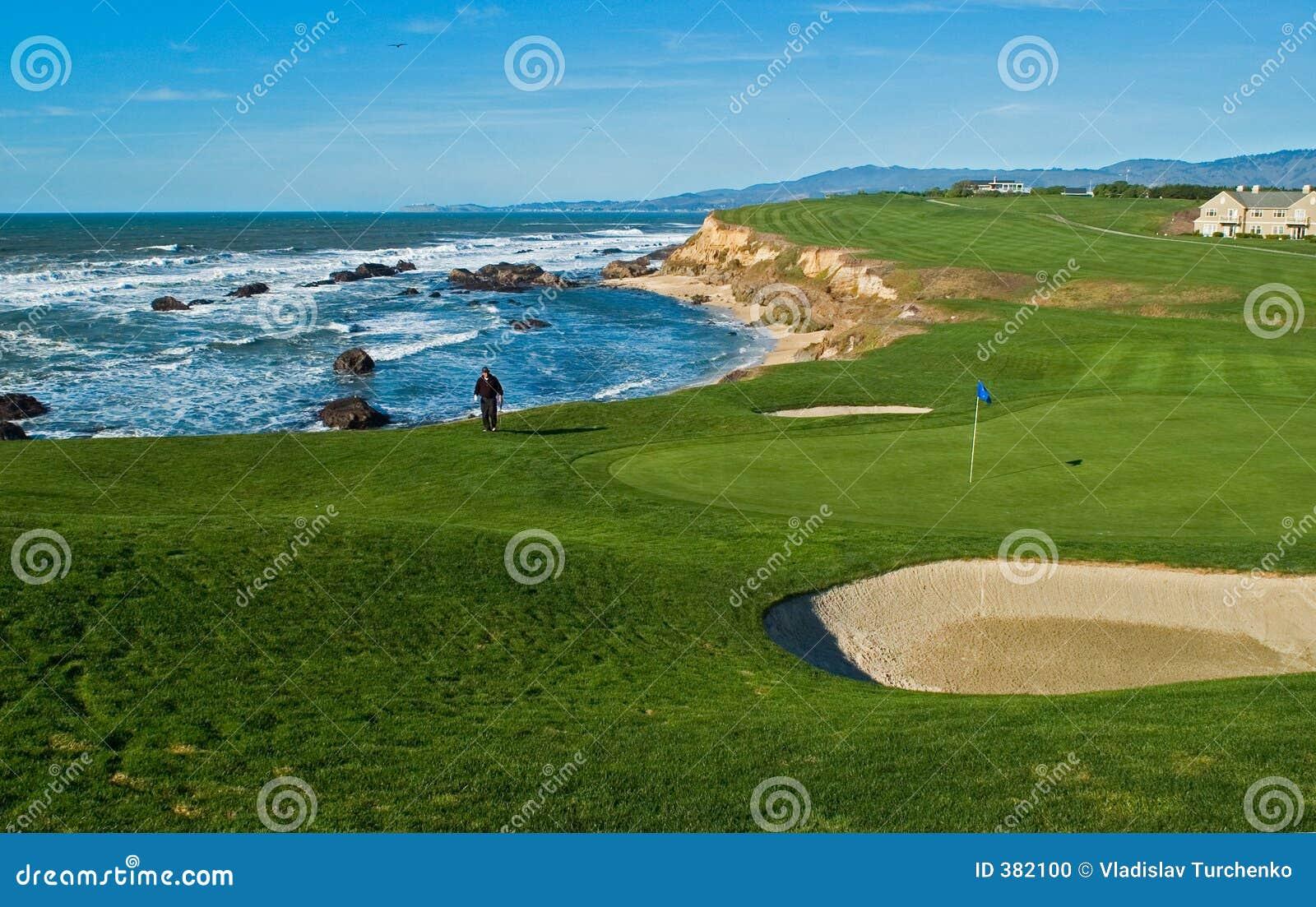 Campo de golfe litoral