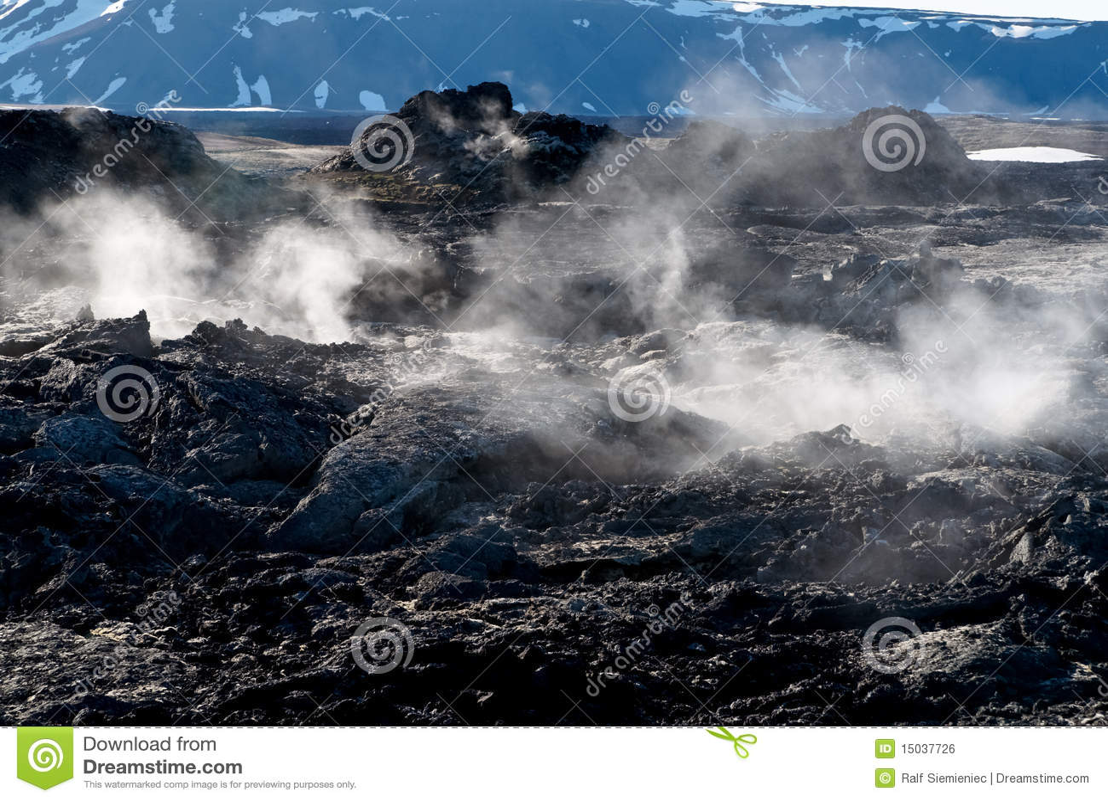 Campo de la lava