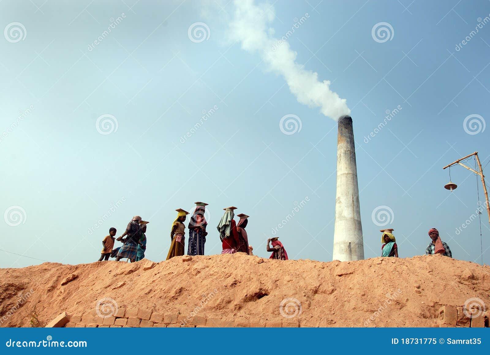 Campo de tijolo indiano