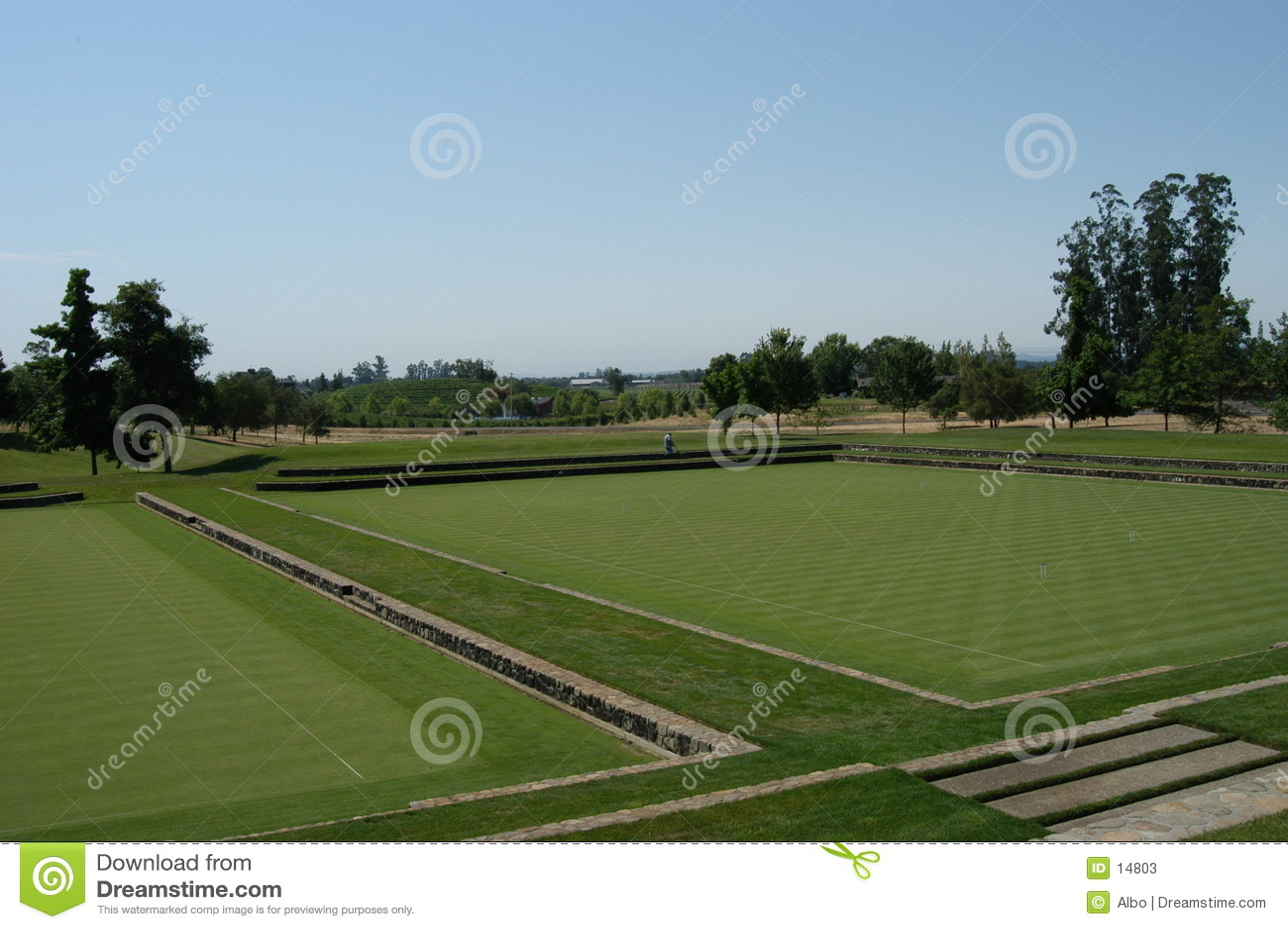 Campo del polo