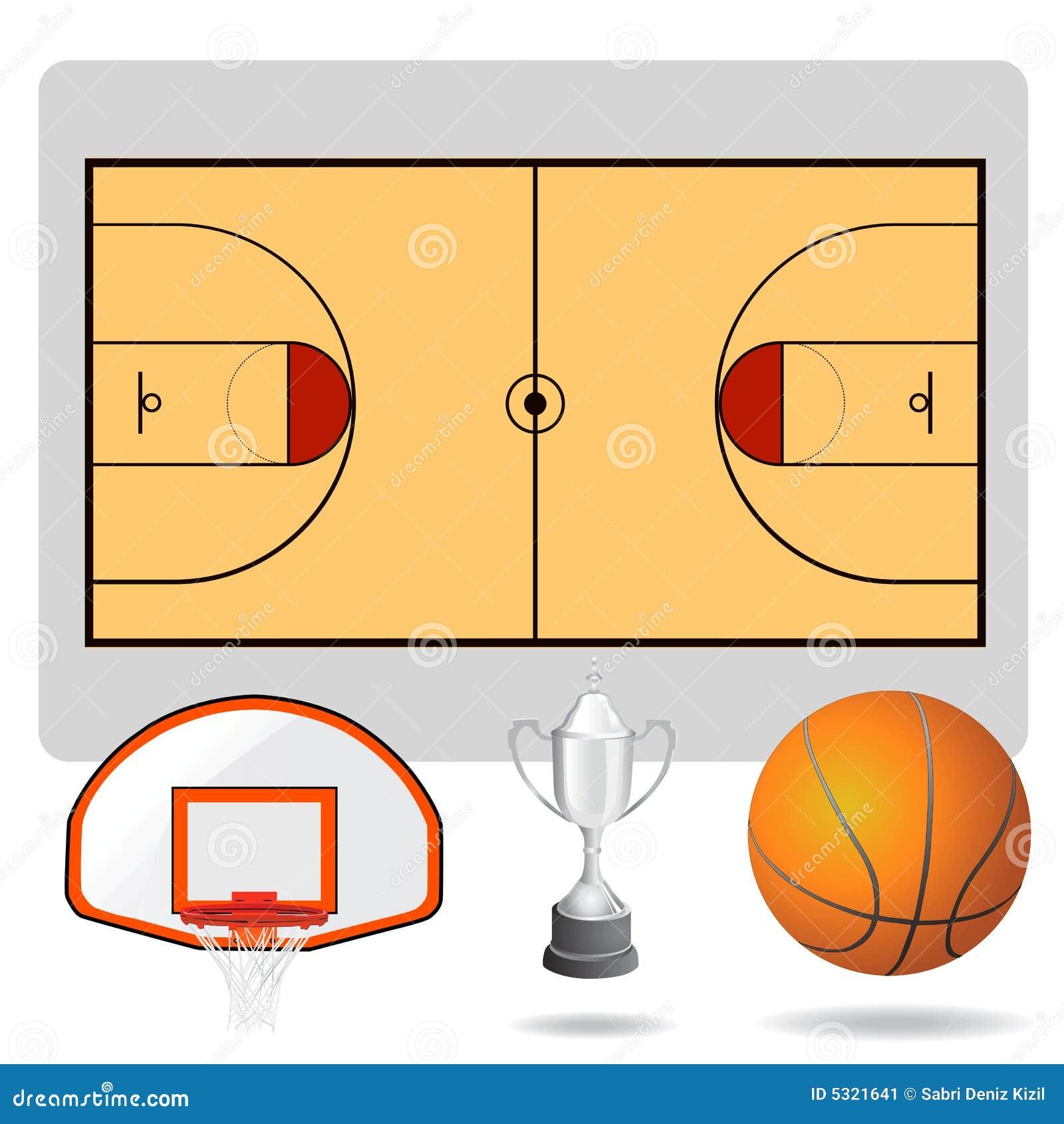 Download Campo Di Pallacanestro, Sfera E Vettore Degli Oggetti Illustrazione Vettoriale - Illustrazione di pallacanestro, sfera: 5321641