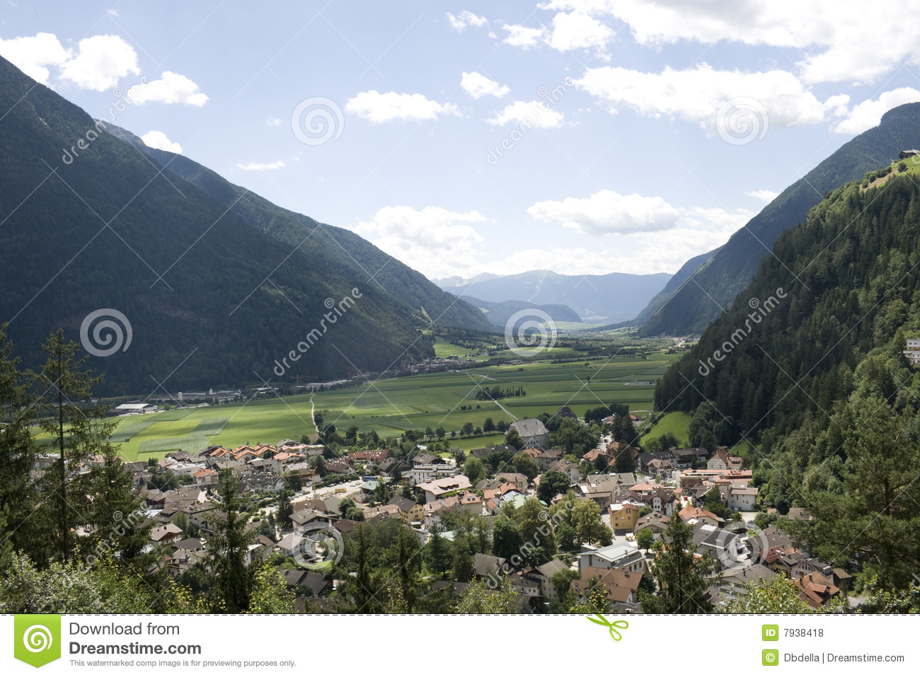 Campo Tures im Puster Tal