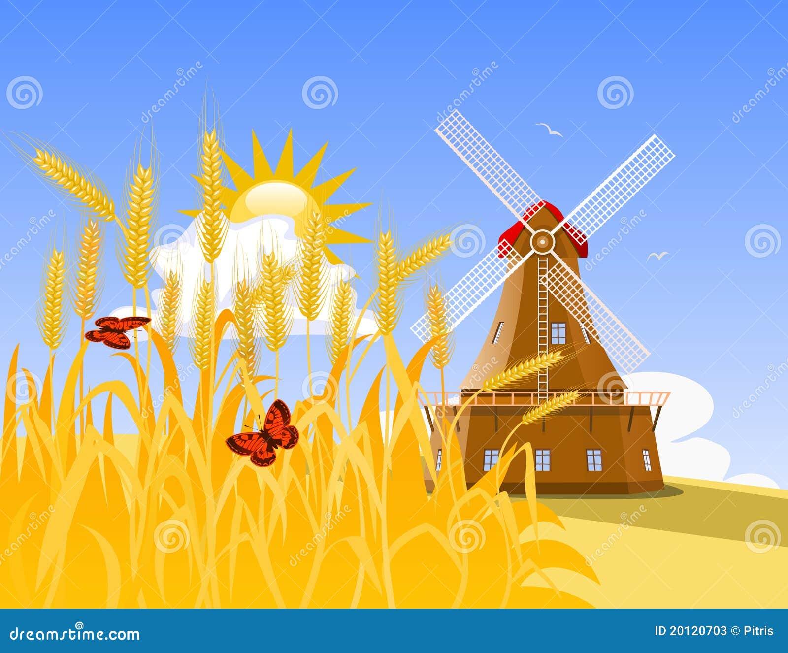 Image gallery molinos de trigo - Molino de trigo ...