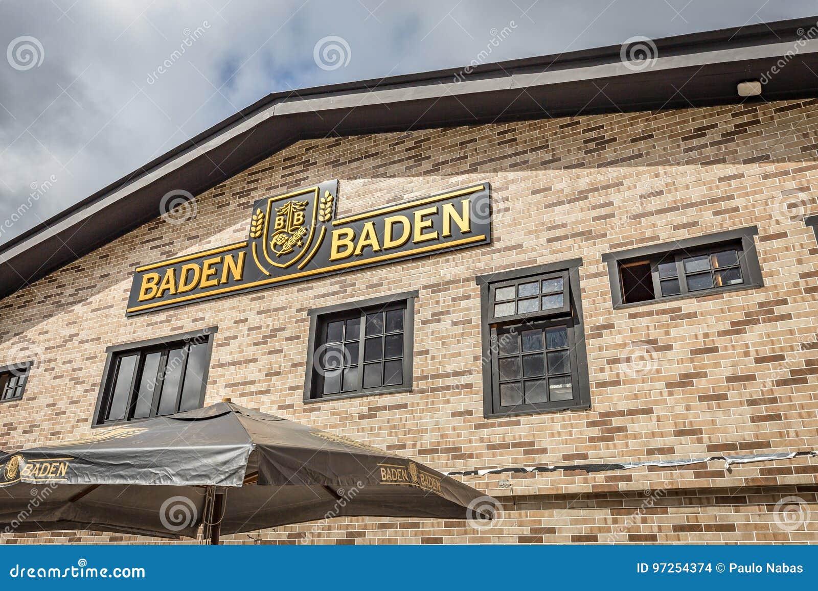 CAMPOS FA JORDAO, BRASILE - 3 LUGLIO 2017: Baden Baden Brewery
