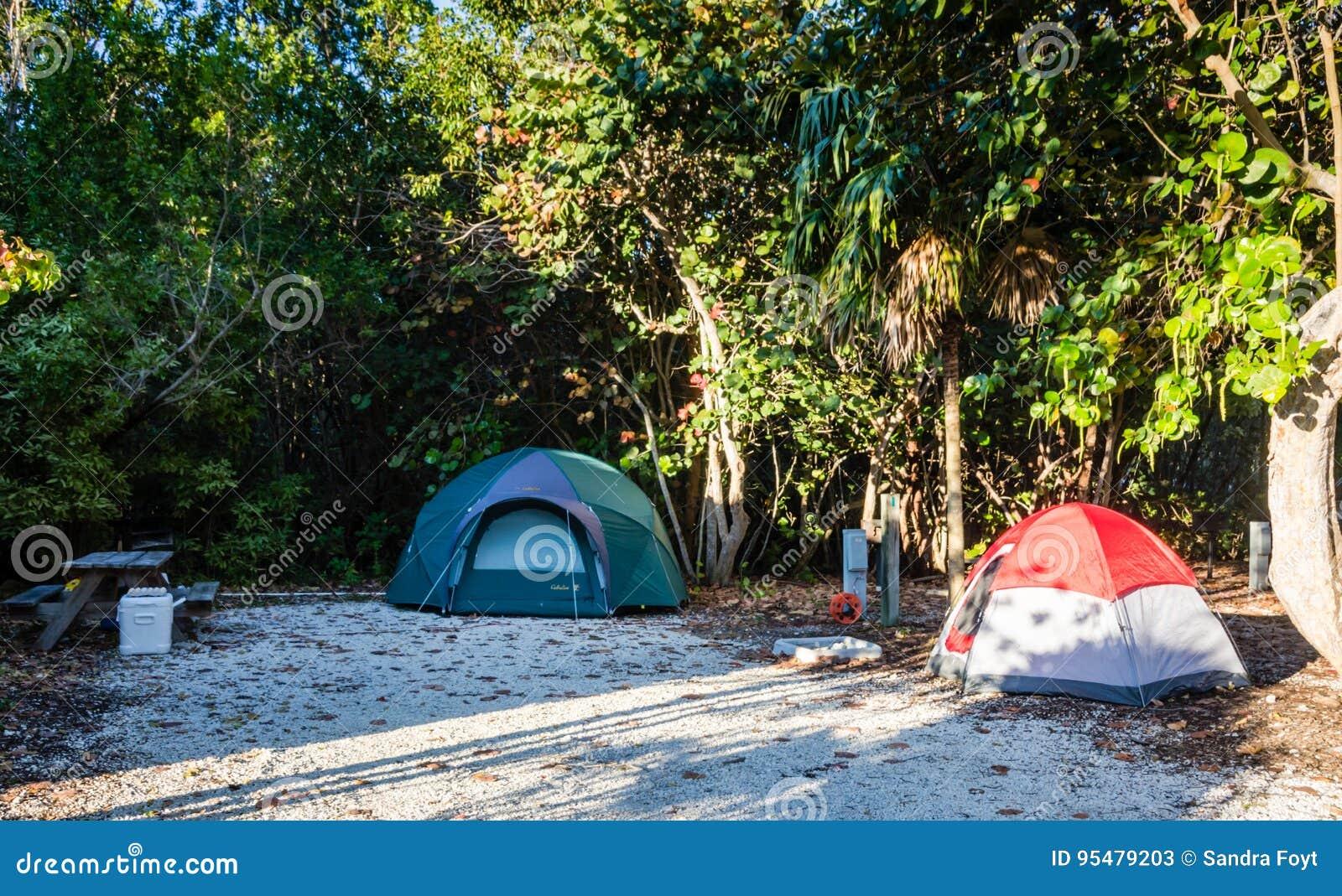 Campsite - John Pennekamp rafy koralowa stanu park - Floryda