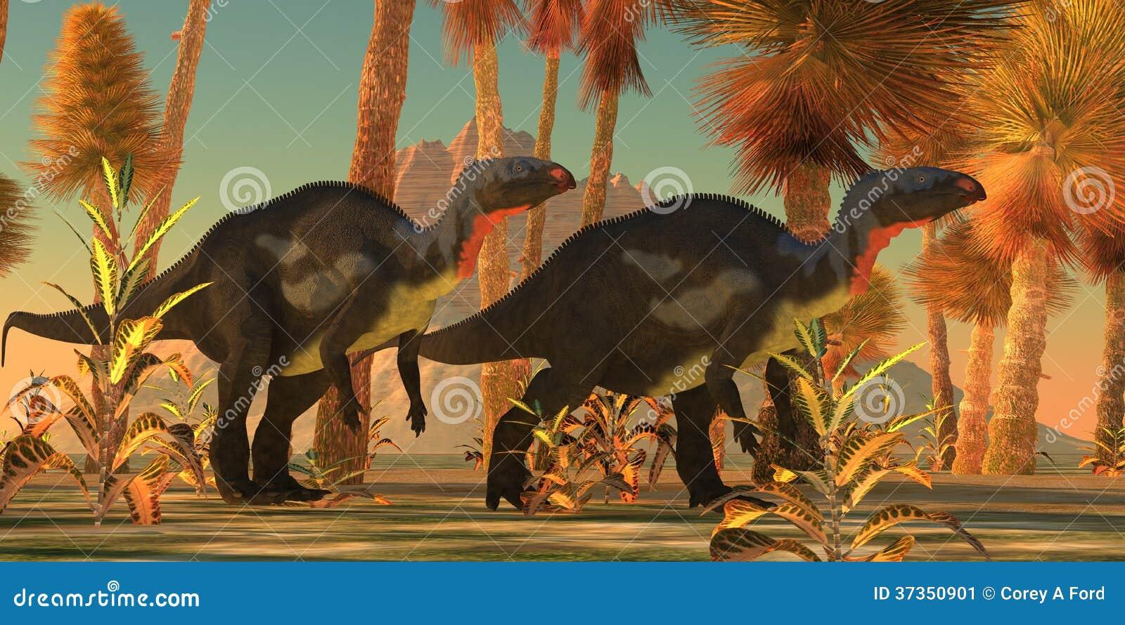 Camptosaurusdinosaurussen
