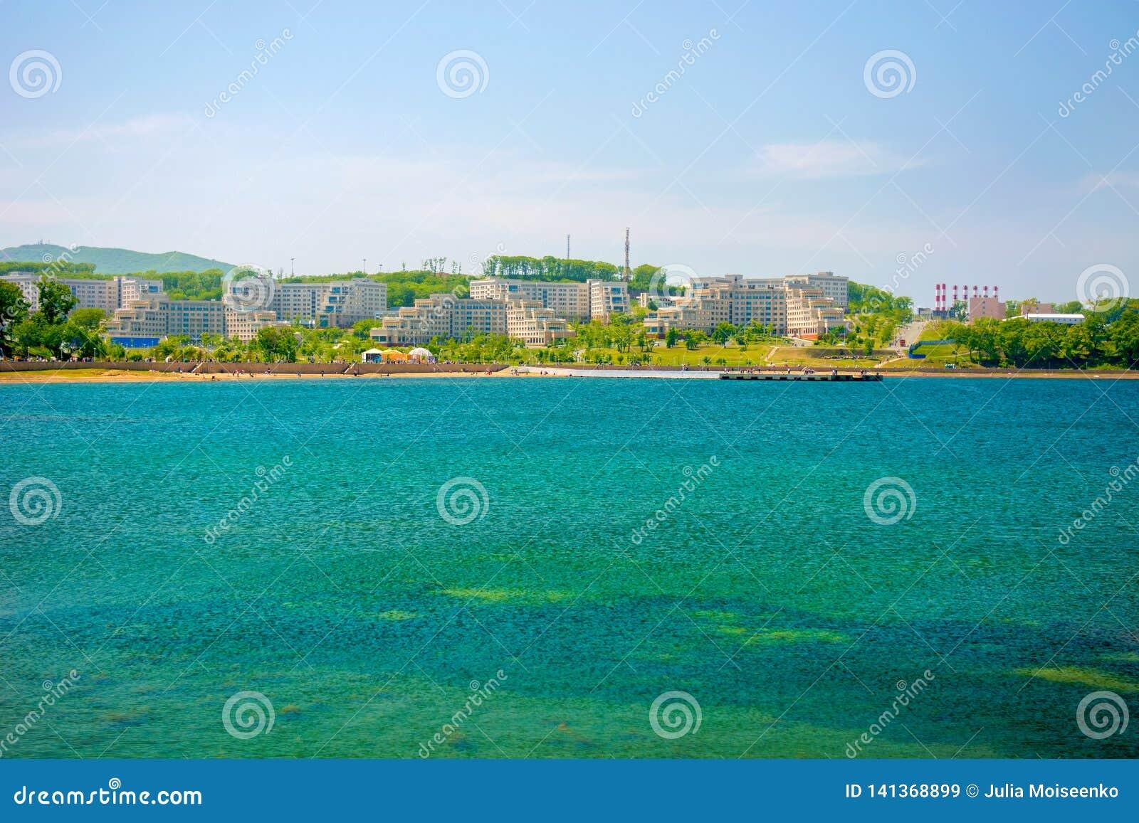 Campus auf der Insel, russische Ferner Osten Bundesuniversität-cc$fefu,