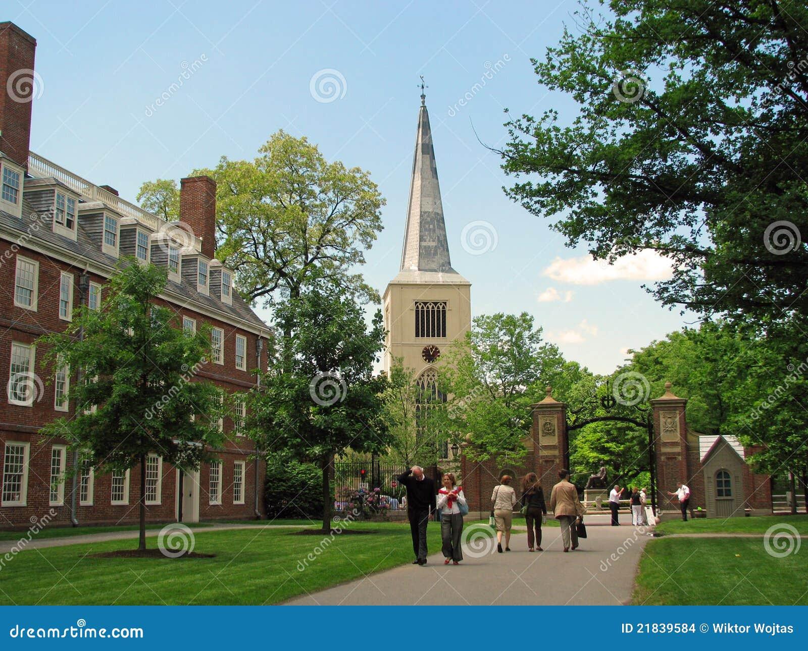 Campus de la universidad de harvard en cambridge imagen de for Arquitectura harvard