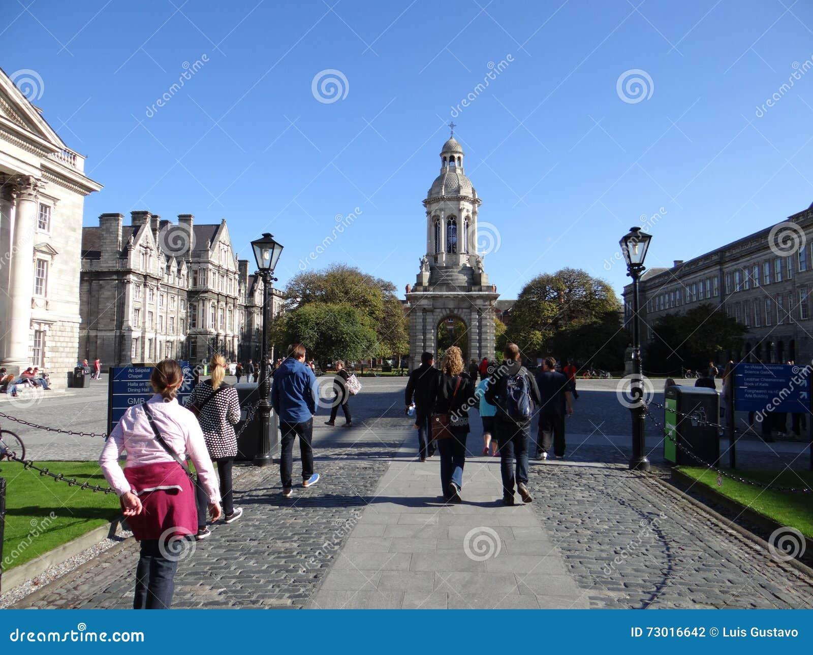 Campus Dublín de la universidad de la trinidad
