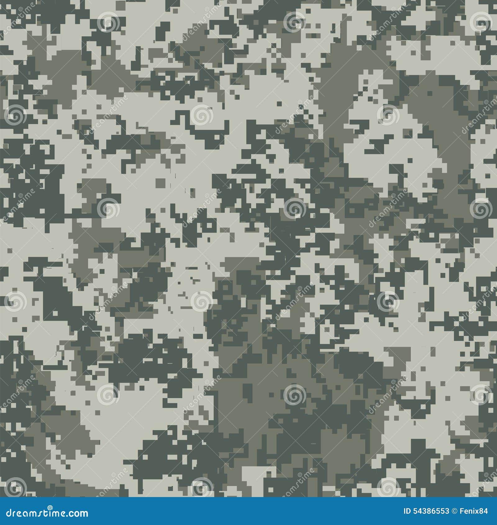 Camuflaje urbano del pixel ilustración del vector. Ilustración de ...