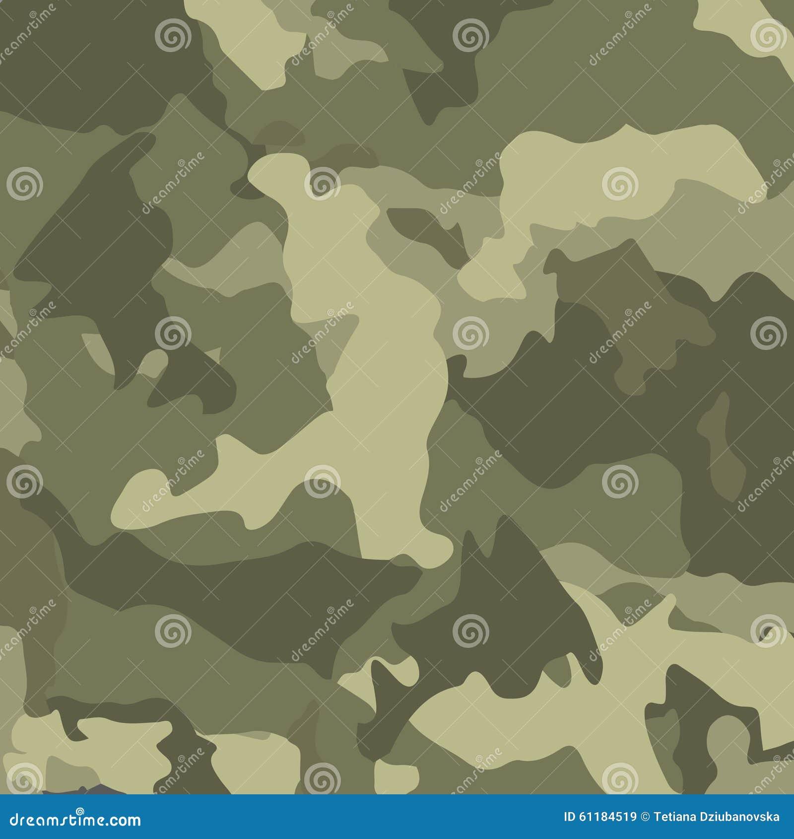 Camuflaje Verde Fondo Militar Del Vector Ilustración del Vector ...