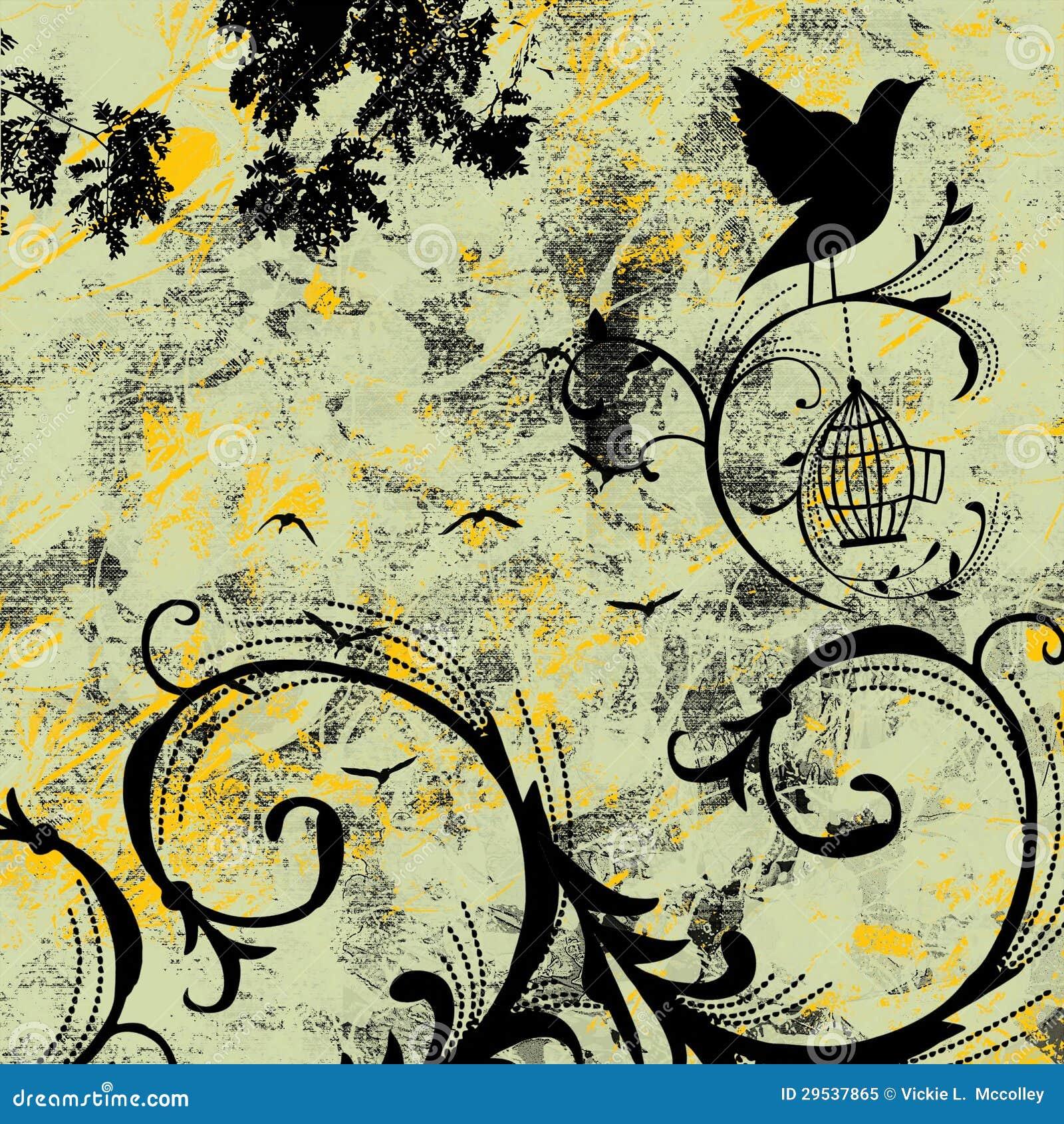 Canção do pássaro do Grunge