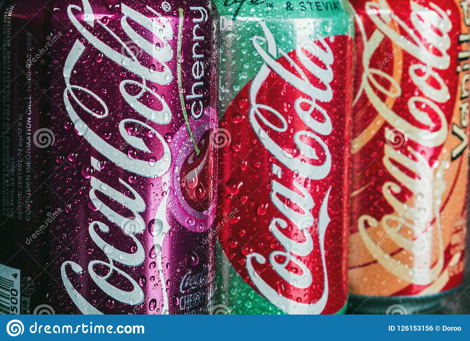 can Coca-Cola drink with different flavor