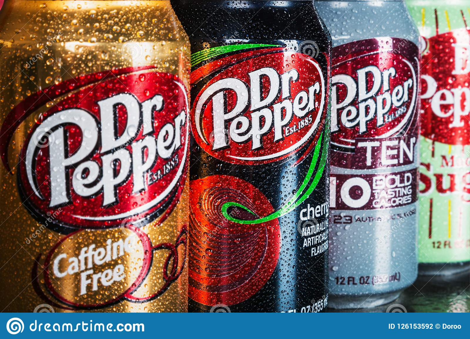 Can Dr. pepper drink with different flavor