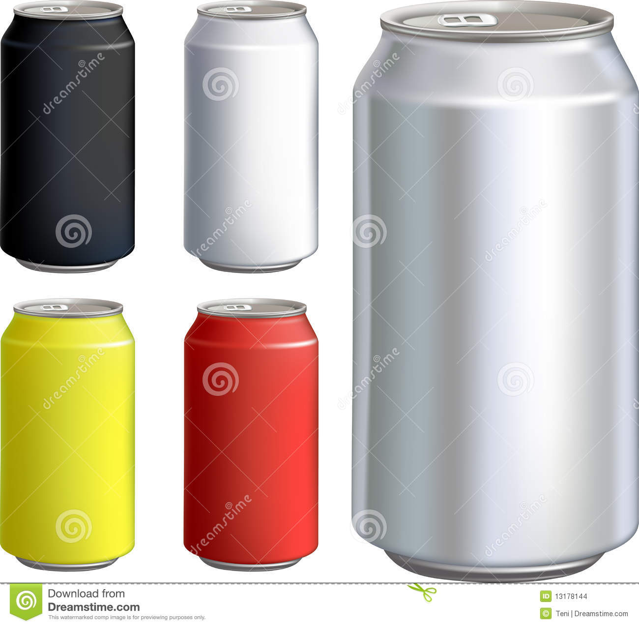 Can Drink Set Stock Images Image 13178144