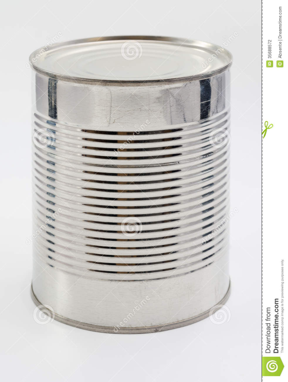 Unlabelled Cans Of Food