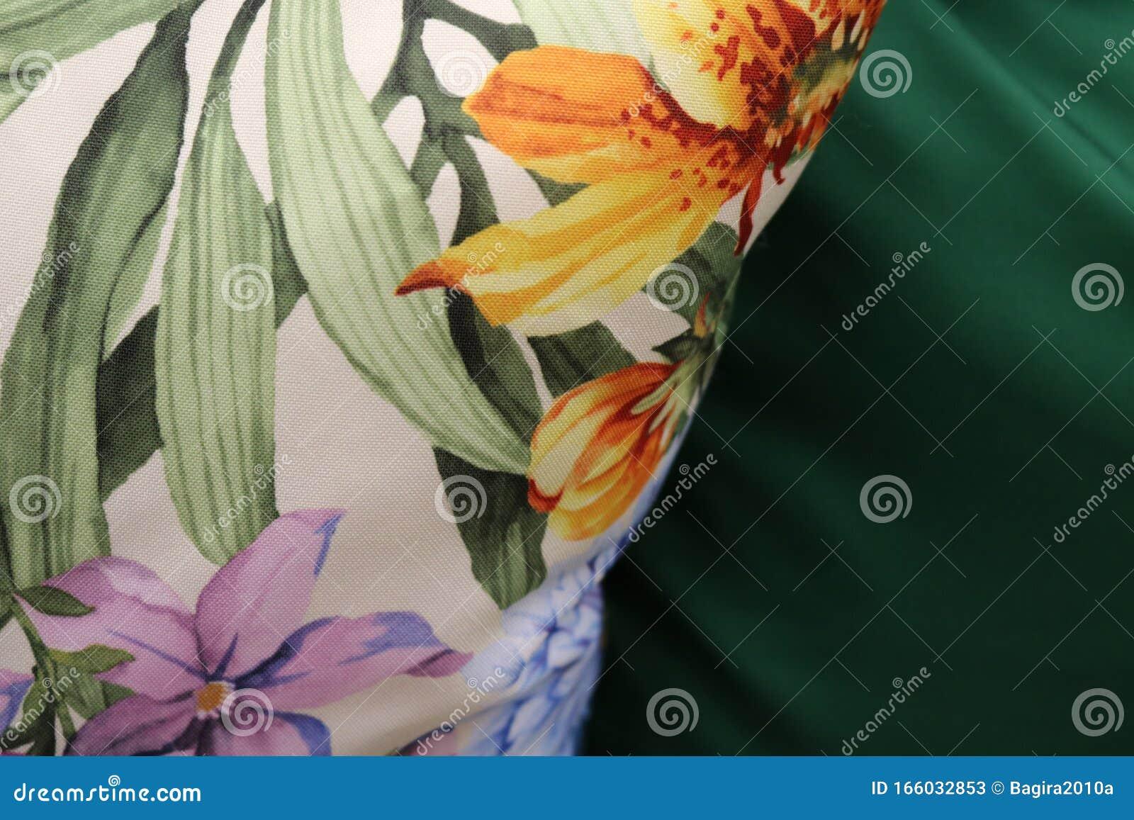 can serve as background further work wallpapers desktop white fabric floral print lies dark green plain 166032853