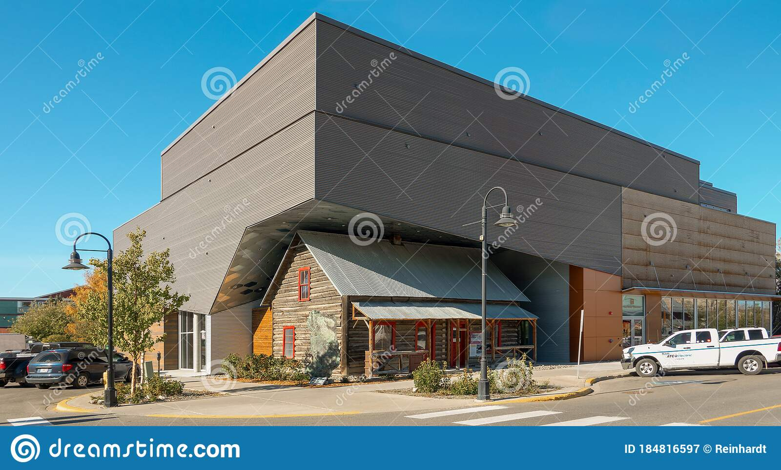 Building Of The Mcbride Museum In Whitehorse Canada Editorial Photography Image Of Remarkable Front 184816597