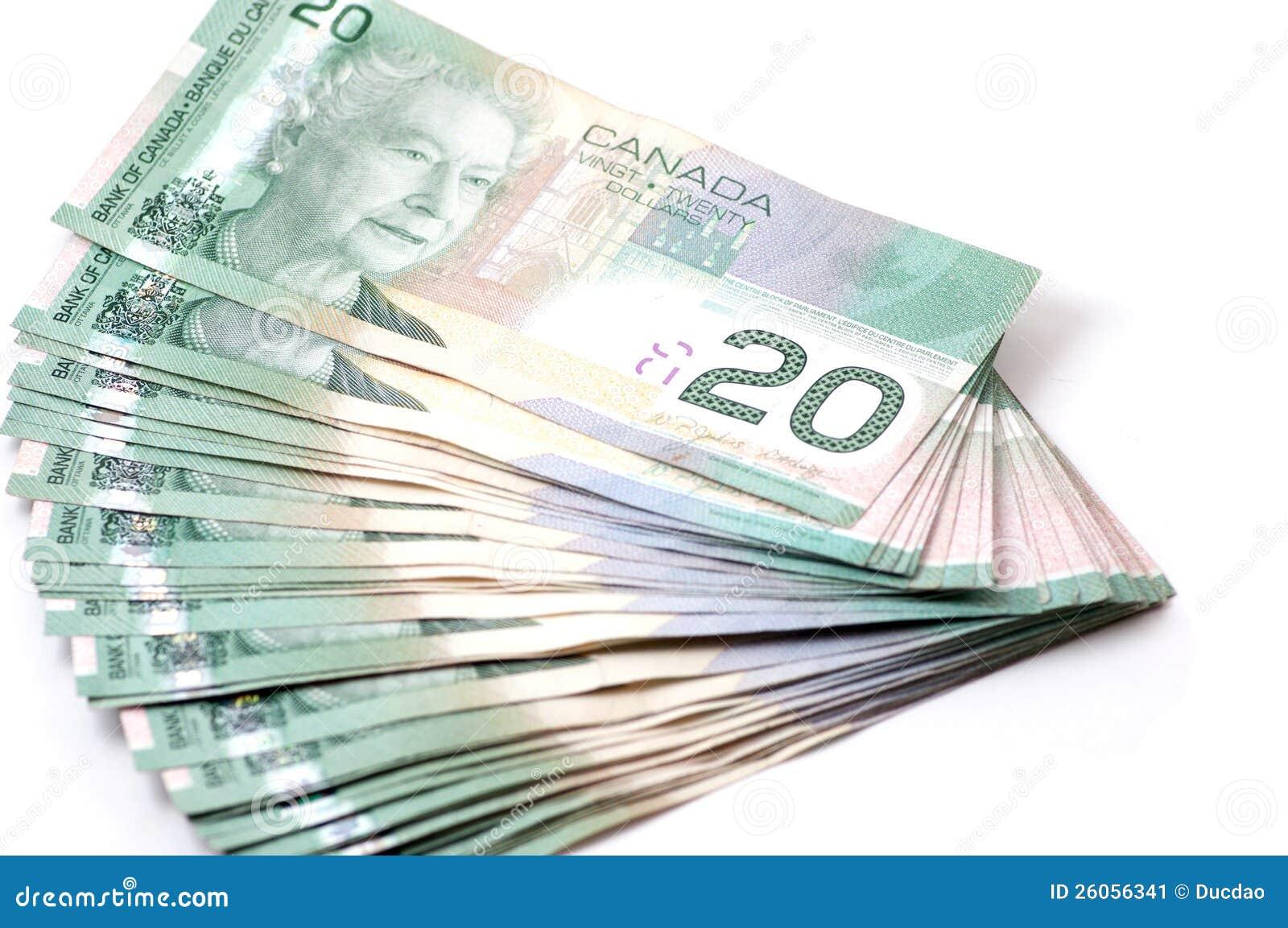 Canadá 20 dólares de cuentas