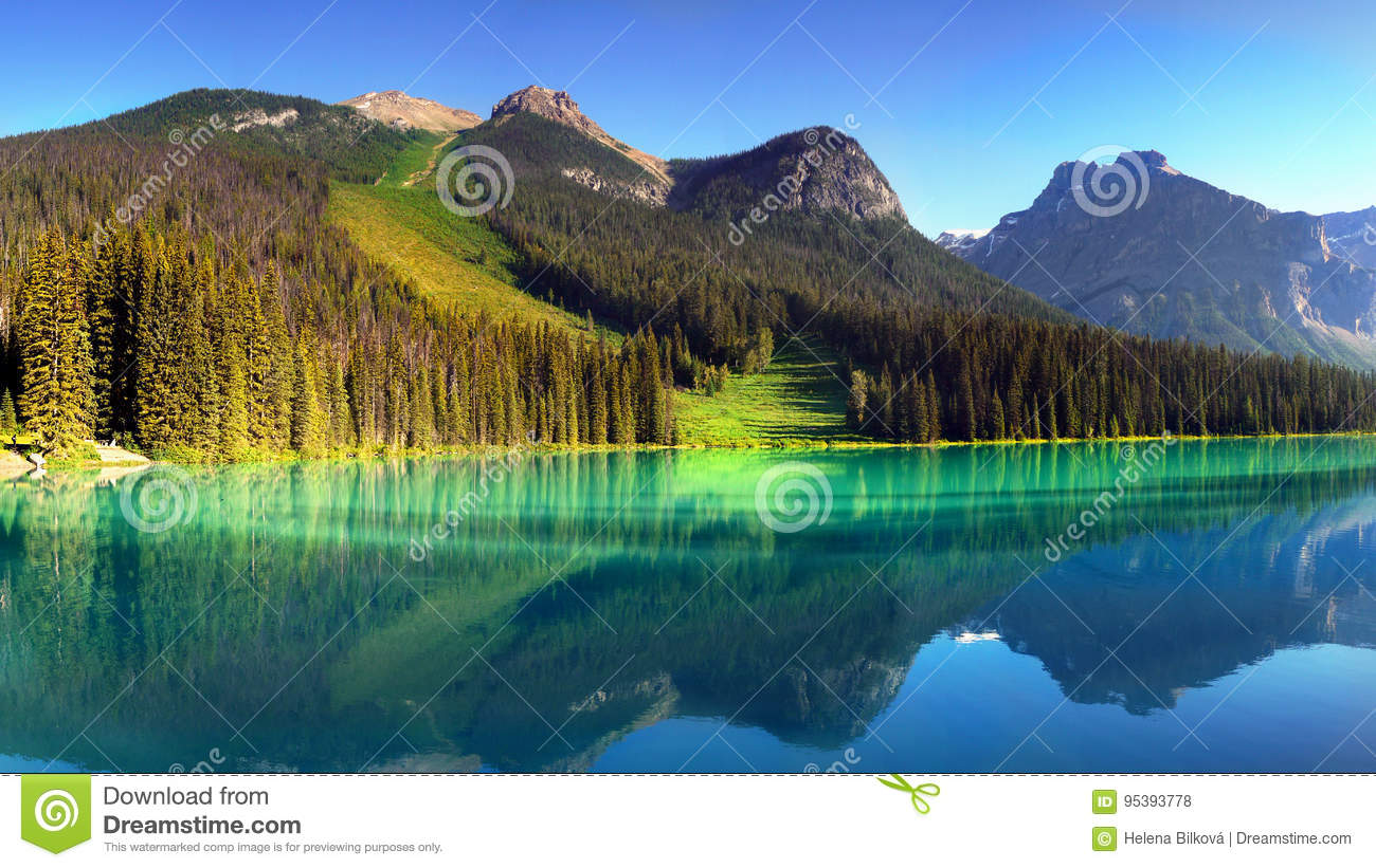 Canada, British Columbia Mountains Landscape