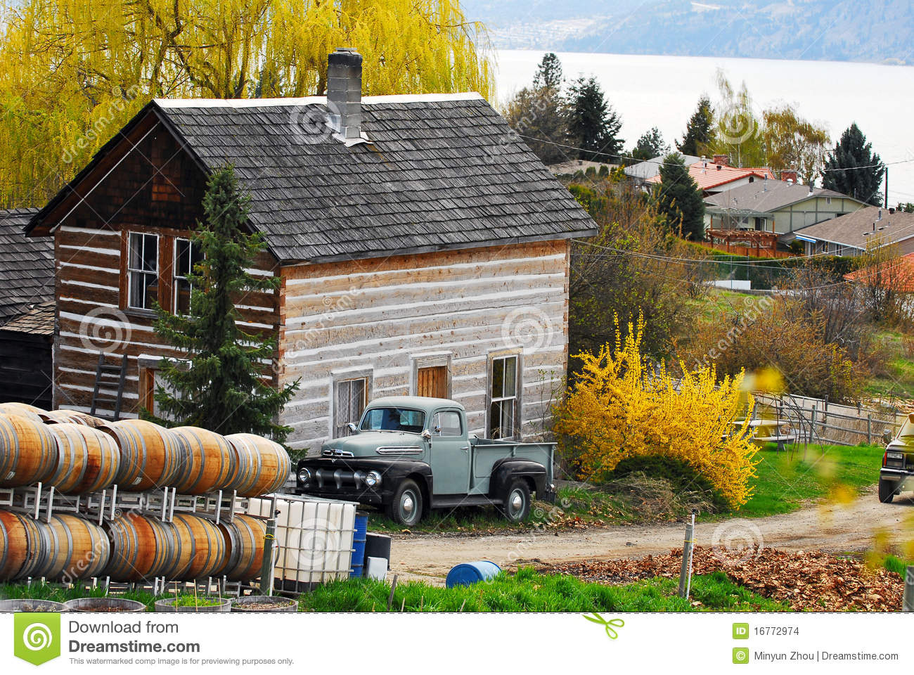 Canada Countryside Stock Photo Image Of Farm Country