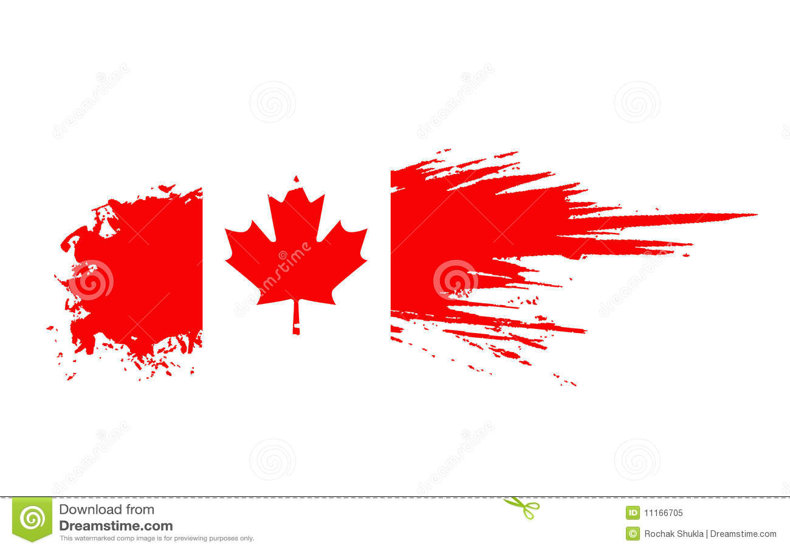 canada flag royalty free stock photo image 11166705