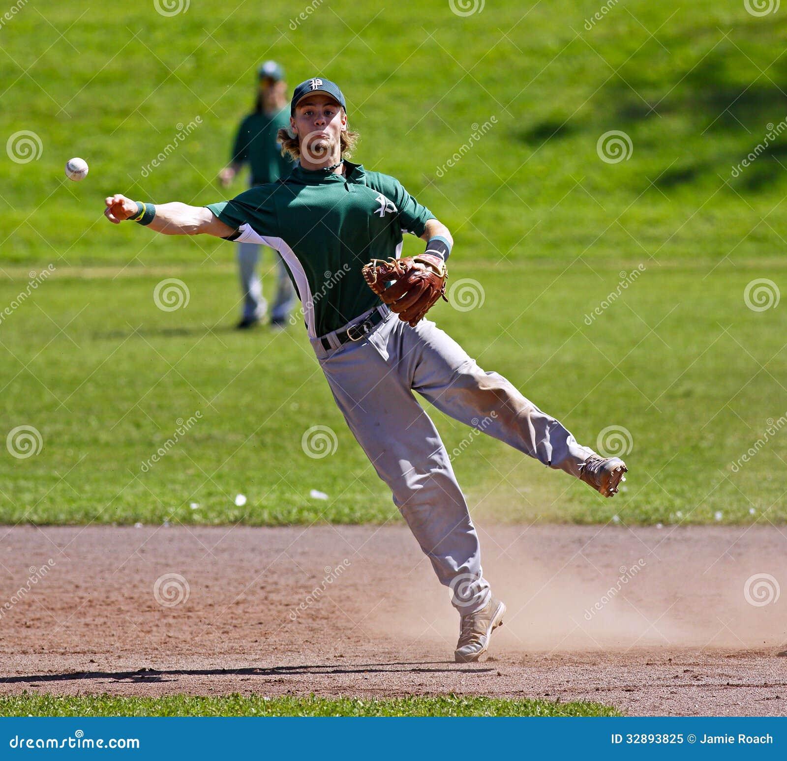 canada games baseball man throw shortstop editorial image