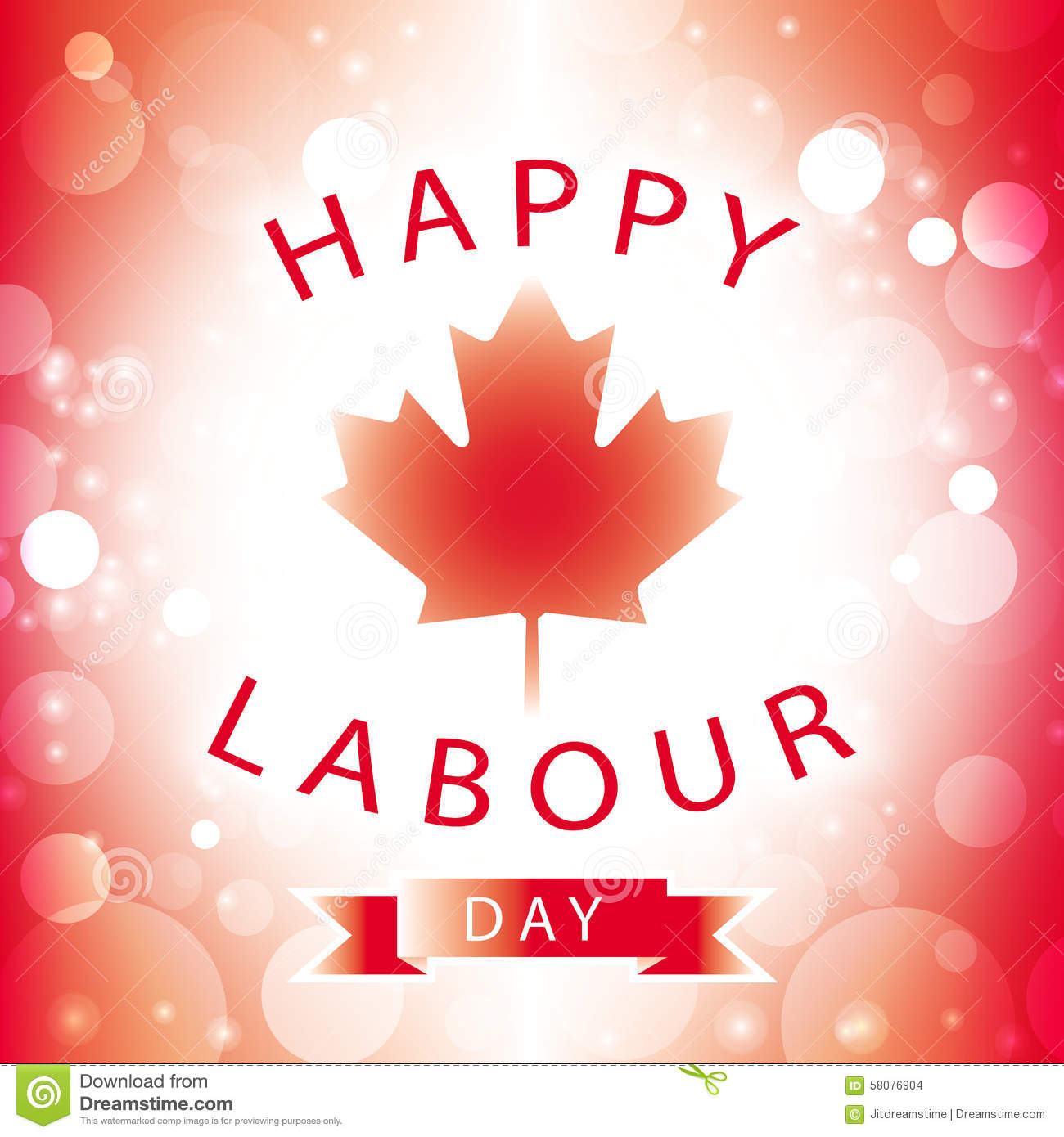 Canada happy labour day stock vector illustration of happy 58076904 canada happy labour day m4hsunfo