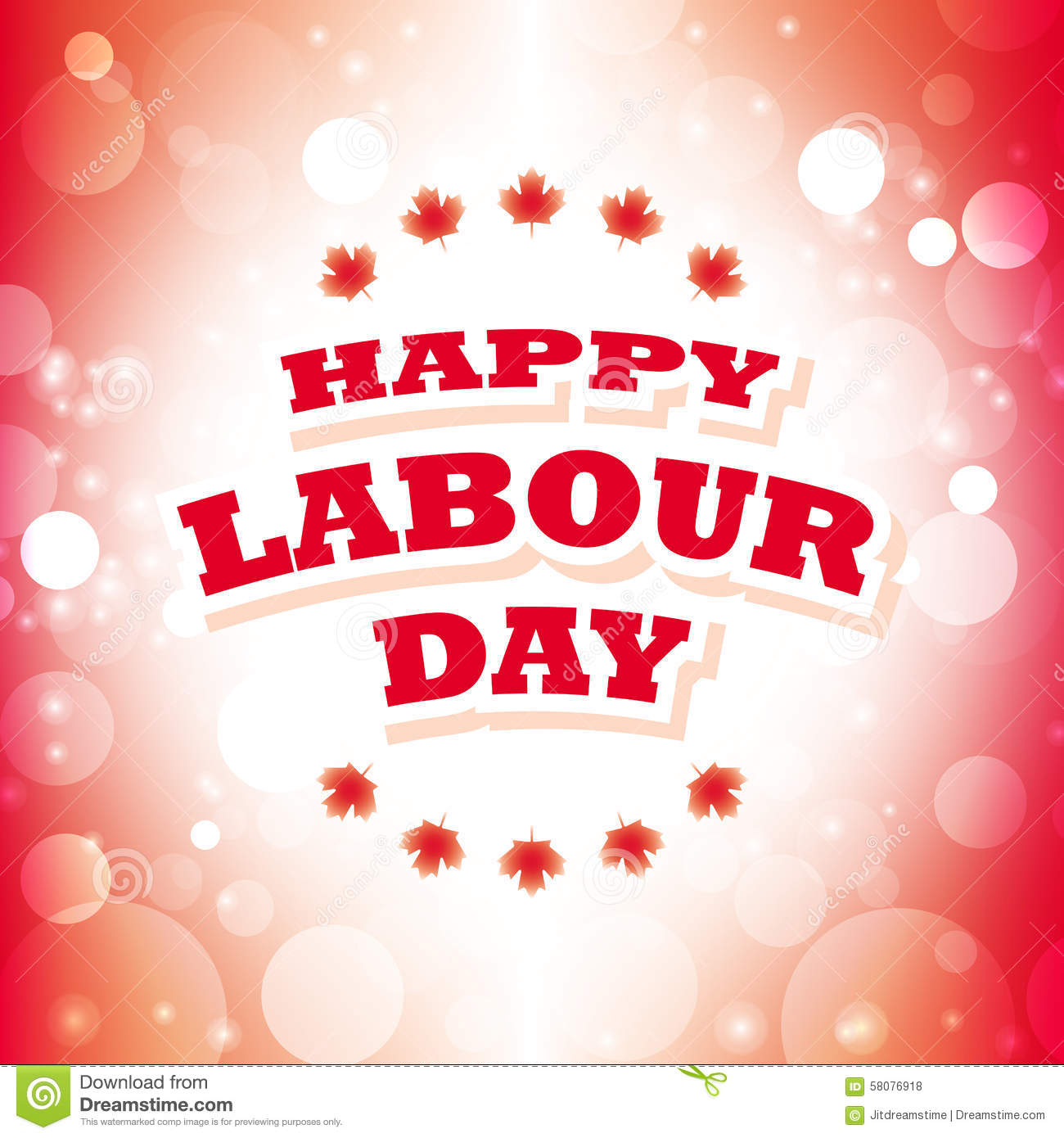 Canada happy labour day stock vector illustration of happy 58076918 canada happy labour day labor banner kristyandbryce Image collections
