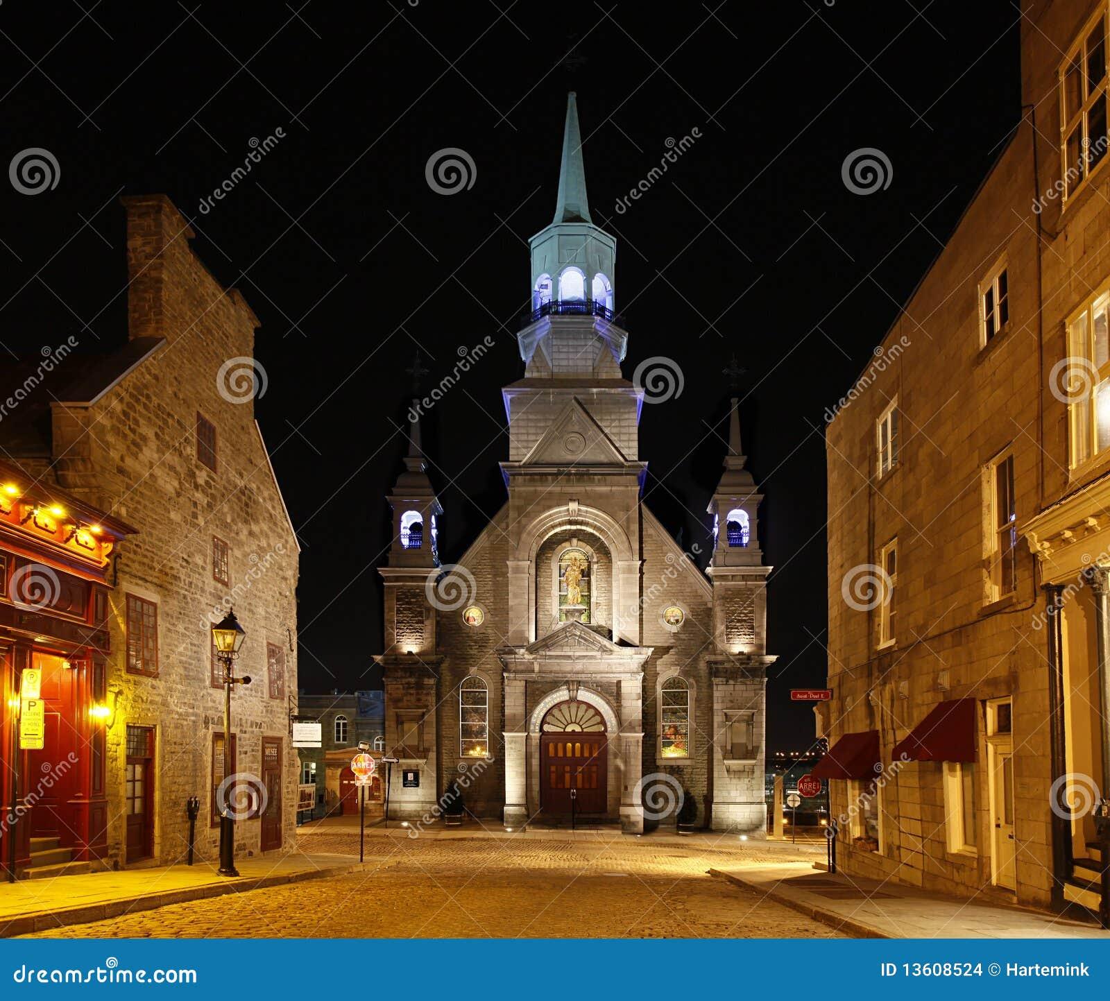 Canada kościelny Montreal stary Quebec
