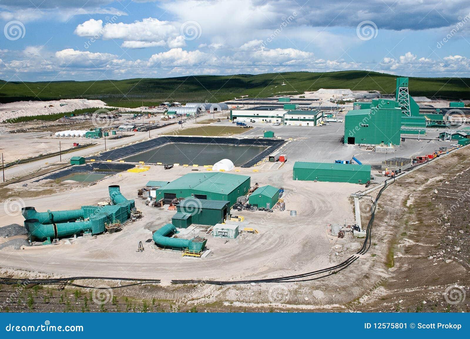Canada kopalniany północny miejsca uran