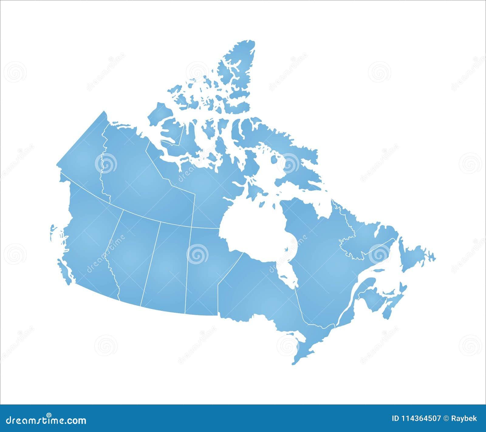 Canada mapa