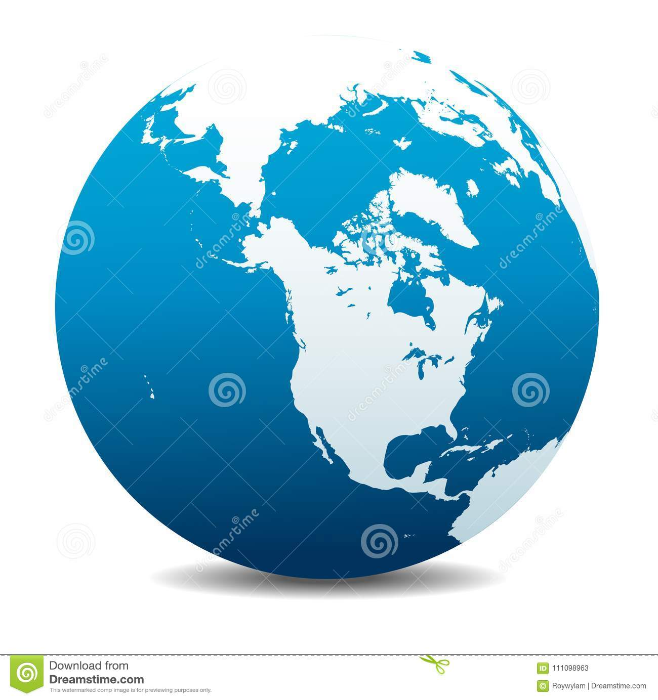 Where Is Siberia On A World Map.Canada North America Siberia And Japan Global World Planet Earth