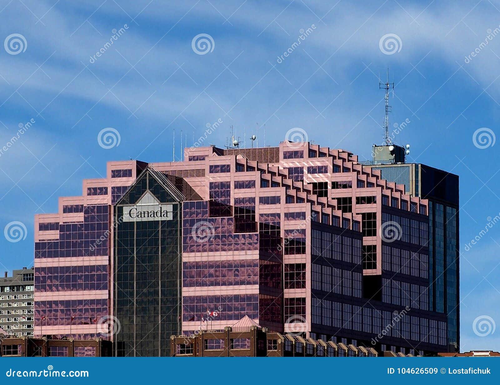 Download Canada Place De Bouw In Edmonton Alberta Redactionele Stock Afbeelding - Afbeelding bestaande uit hemel, stad: 104626509