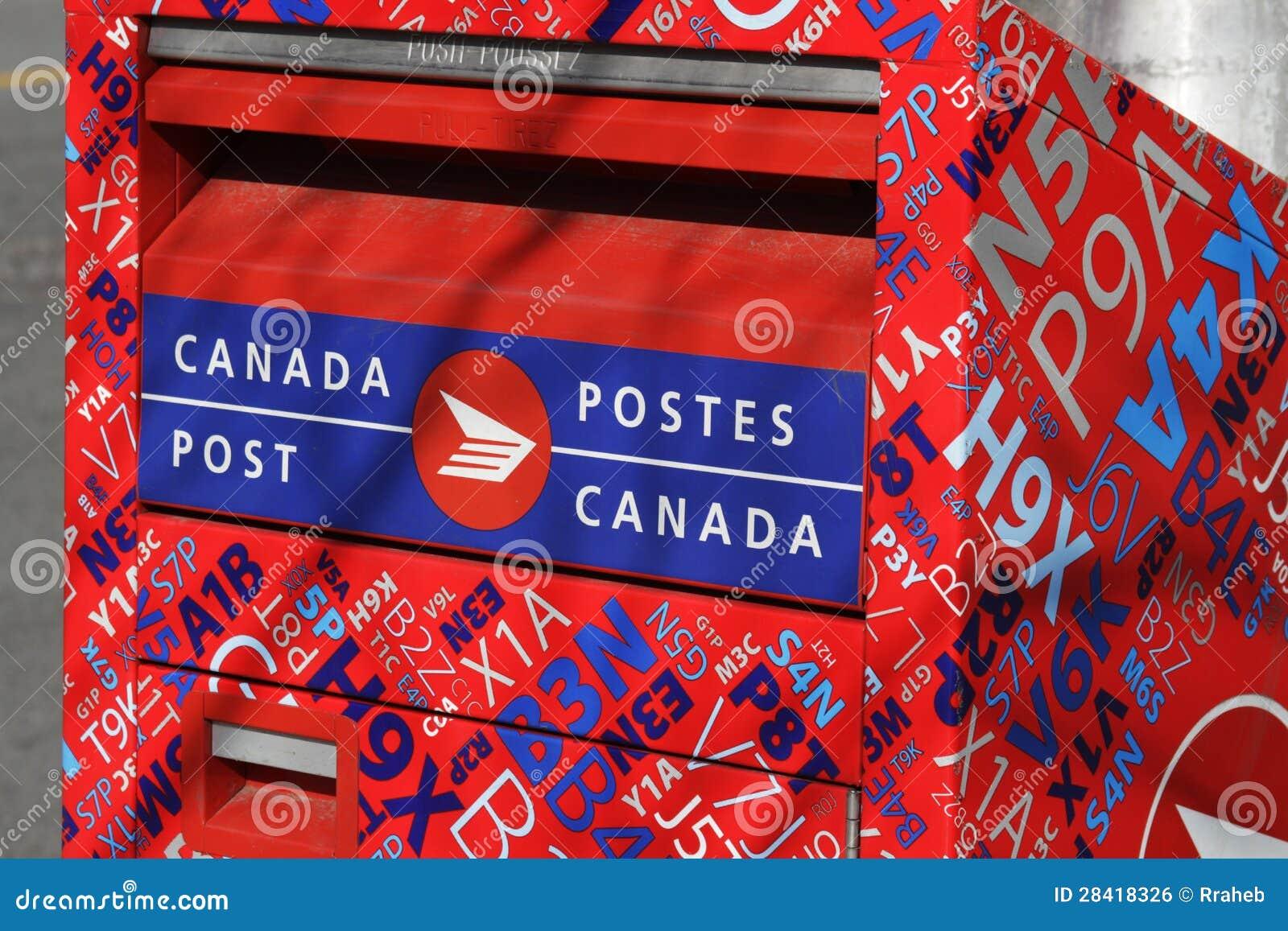 Canada Post - Drop Location