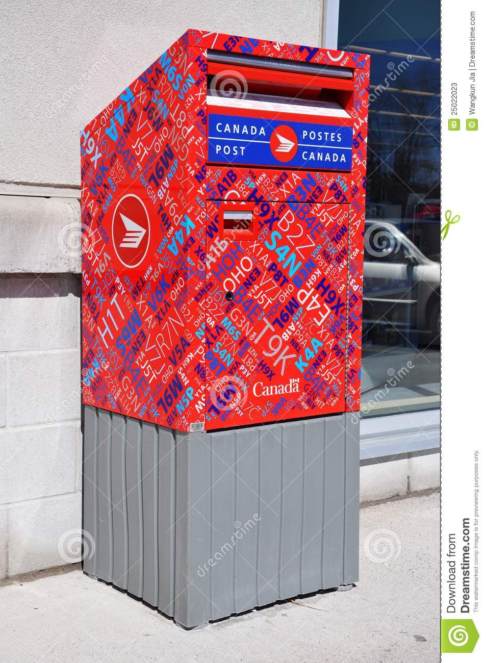 Canada Post Mail Box Editorial Stock Photo - Image: 25022023